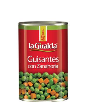 Guisantes con Zanahoria